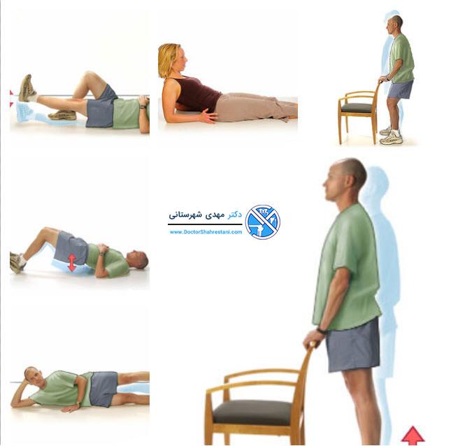 تمرینات ورزشی بعد از عمل رباط صلیبی قدامی