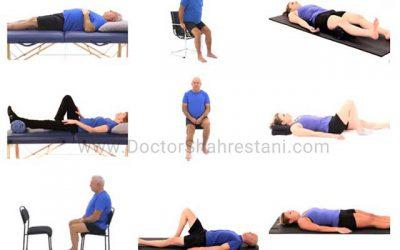 تمرینات قبل از عمل تعویض مفصل زانو